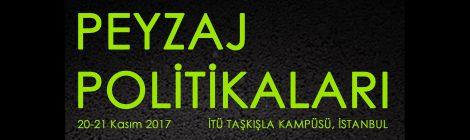 Türkiye Peyzajları II. Ulusal Konferansı